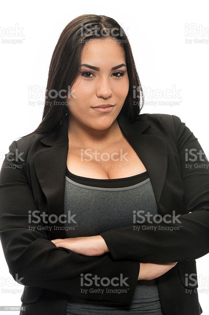 Young hispanic woman stock photo