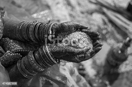 Shot in an Indian wedding