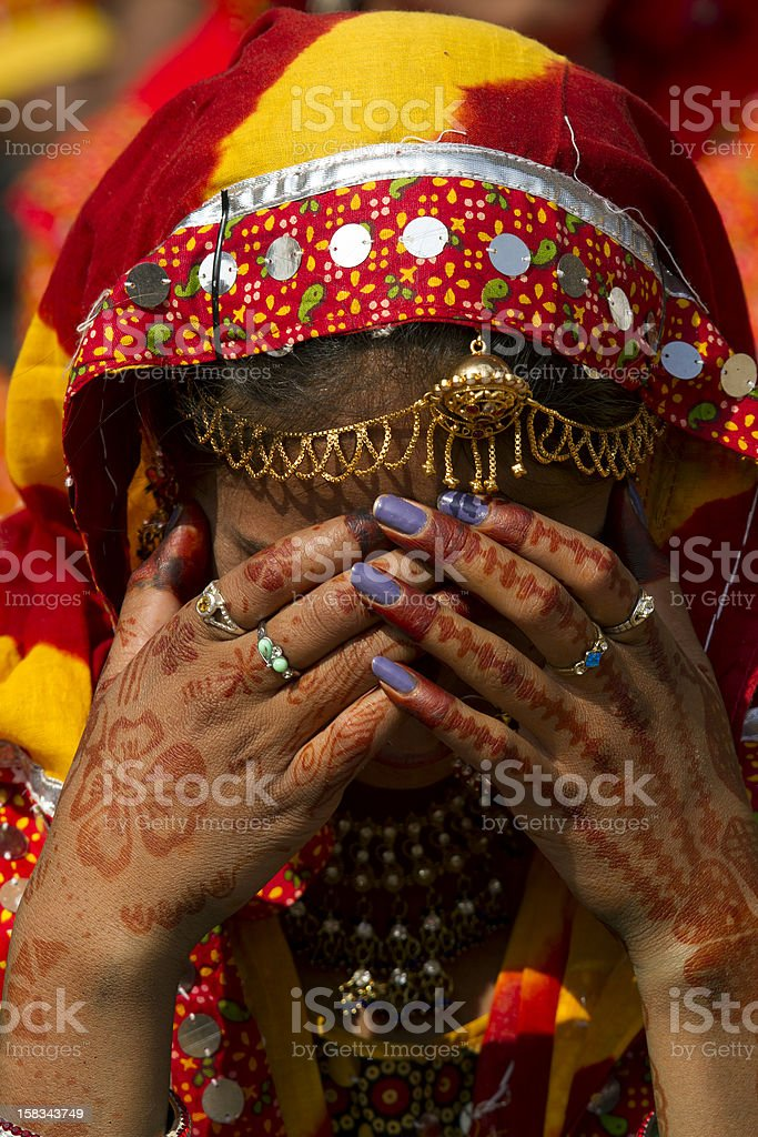 Young Indian Girl royalty-free stock photo
