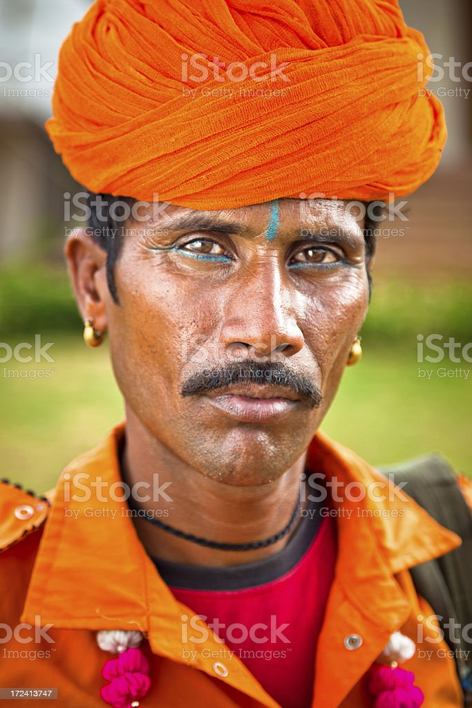young Indian man royalty-free stock photo