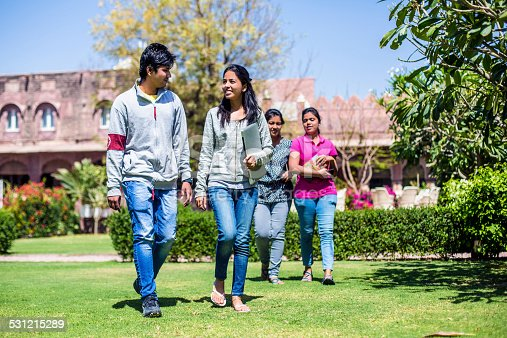 istock Young indian student at the university 531215289