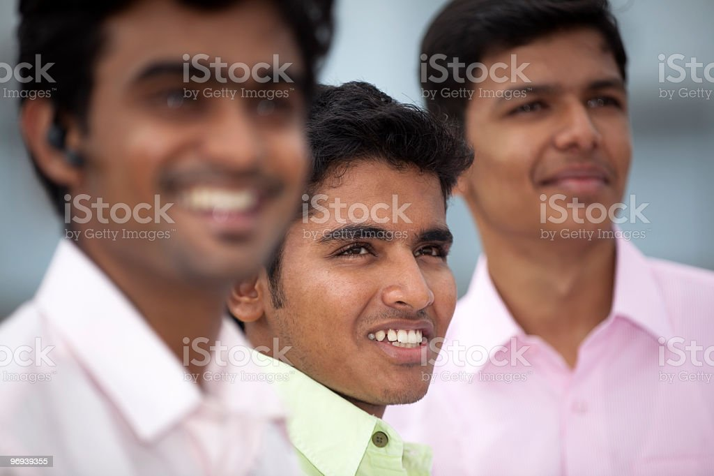 Young indian students royalty-free stock photo