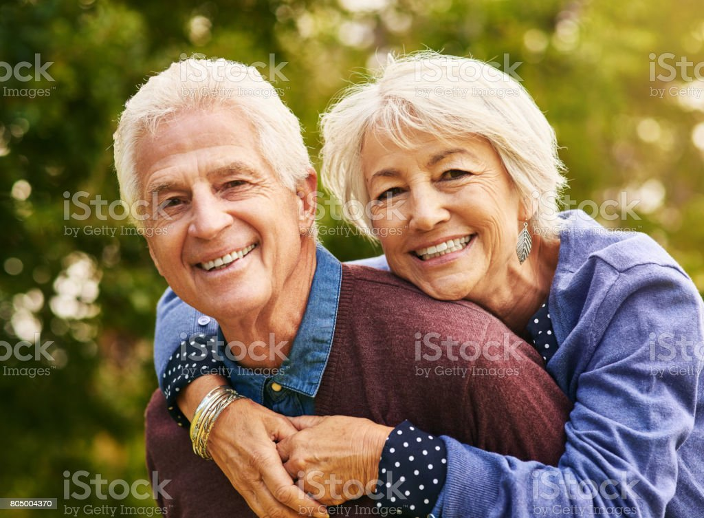 Young isn't an age, it's how you feel stock photo