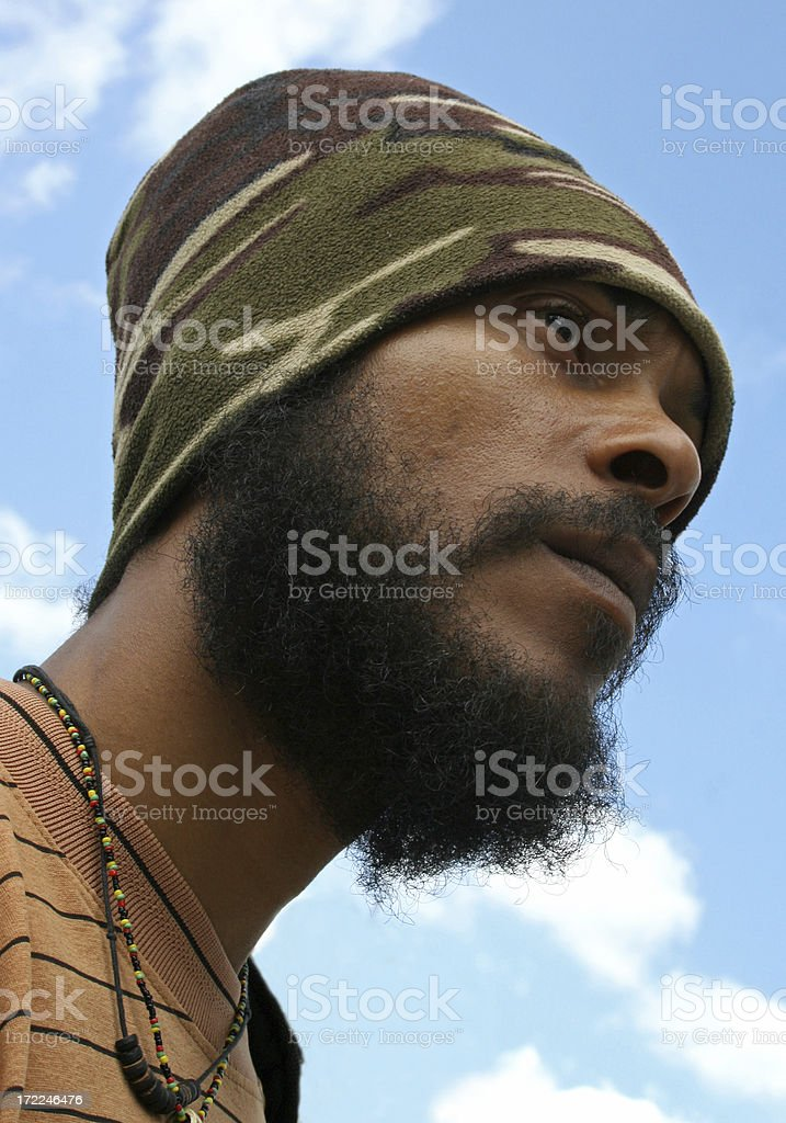 Young Jamaican man​​​ foto