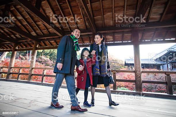 Young japanese family walking on a wooden bridge at tempe picture id638333952?b=1&k=6&m=638333952&s=612x612&h=ckv7h47qla0x2qhuwjc t yra3u5xjcnkk43y0ceonk=