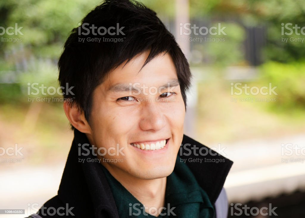 Young Japanese Man stock photo