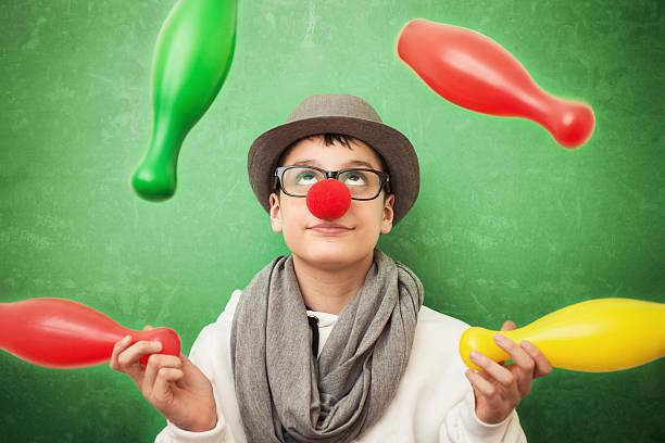 Jeune jongleuse - Photo