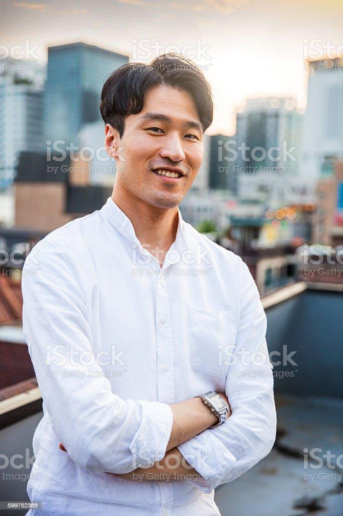 Ein koreanischer Mann