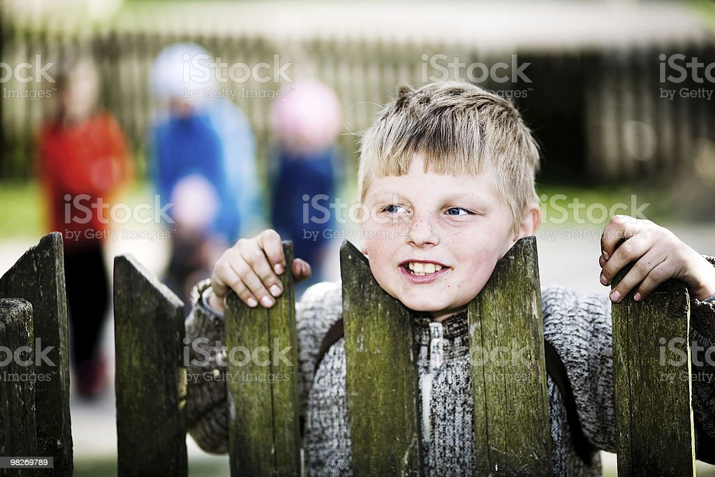 Young lad royalty-free stock photo
