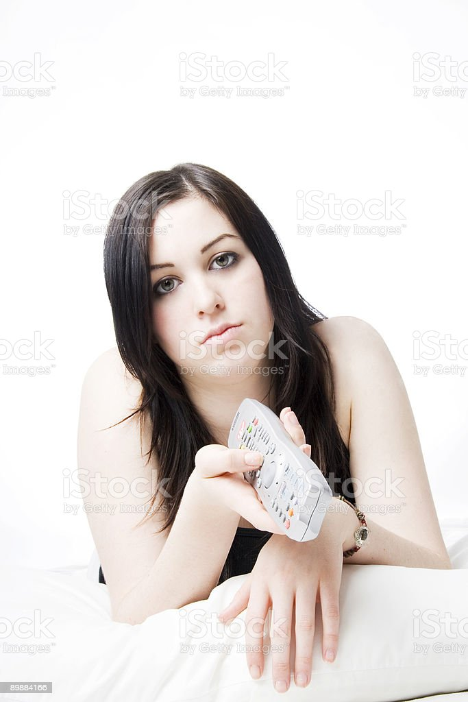 Young Lady Lifestyle Series royalty-free stock photo