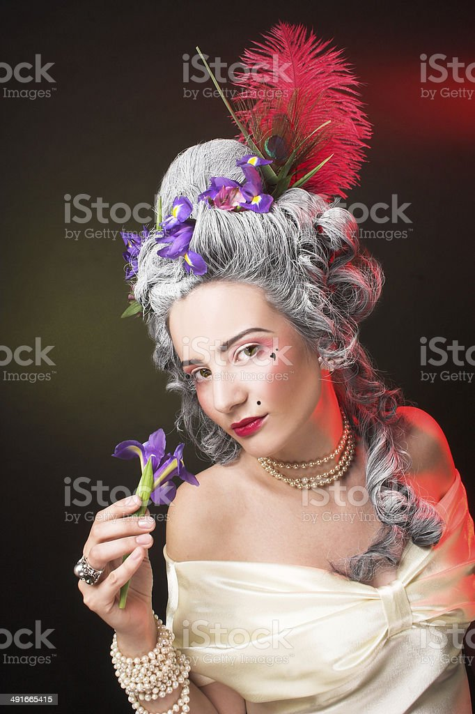 Young lady stock photo