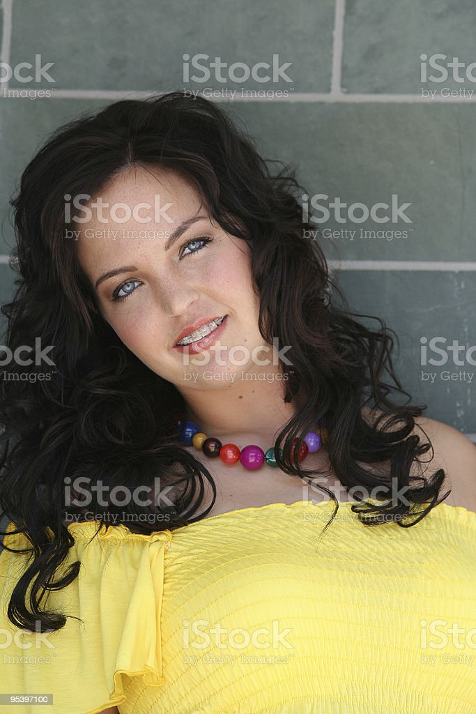 Junge lady Lizenzfreies stock-foto