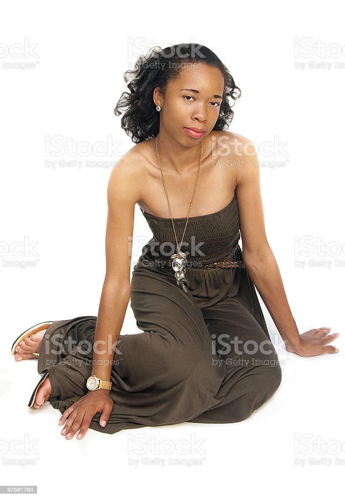 Young lady posing 2 royalty-free stock photo