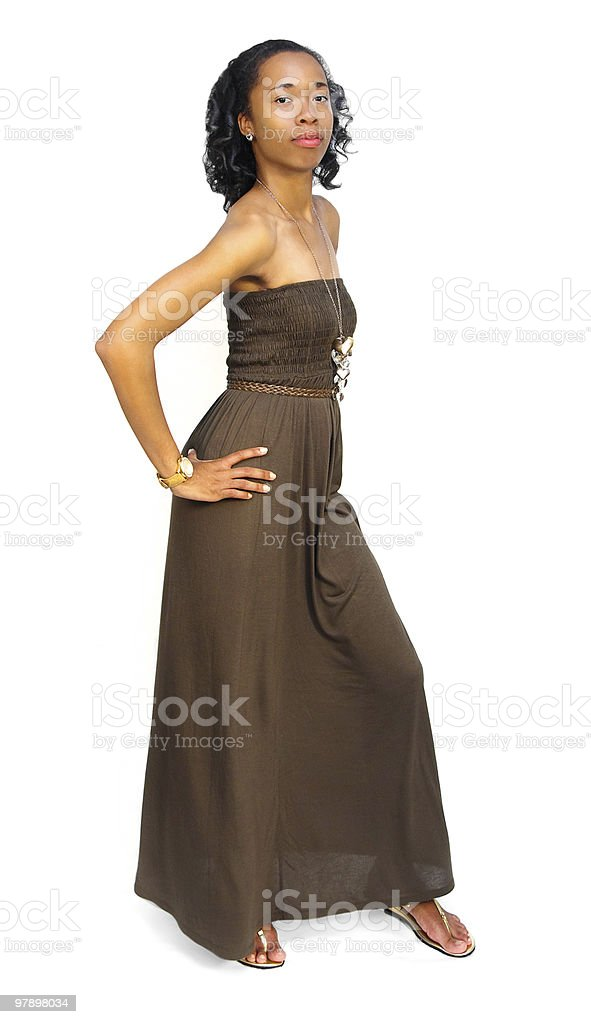 Young lady posing royalty-free stock photo
