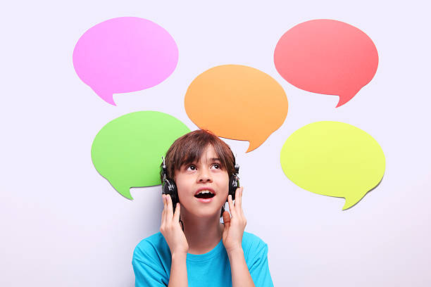 Young Language Learner stock photo