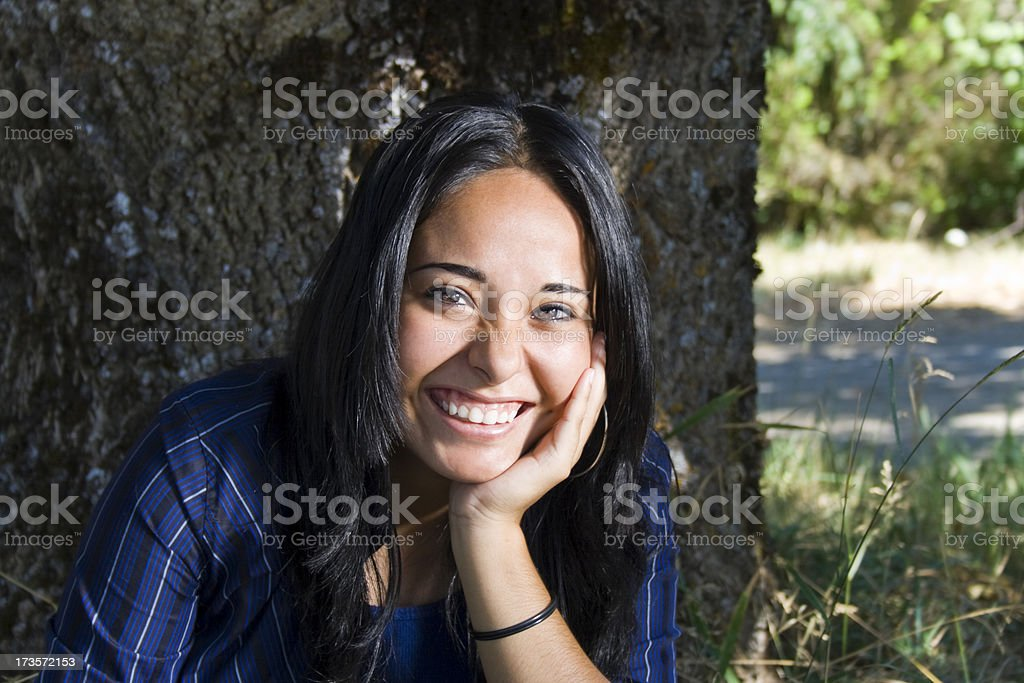 Young Latin Girl royalty-free stock photo