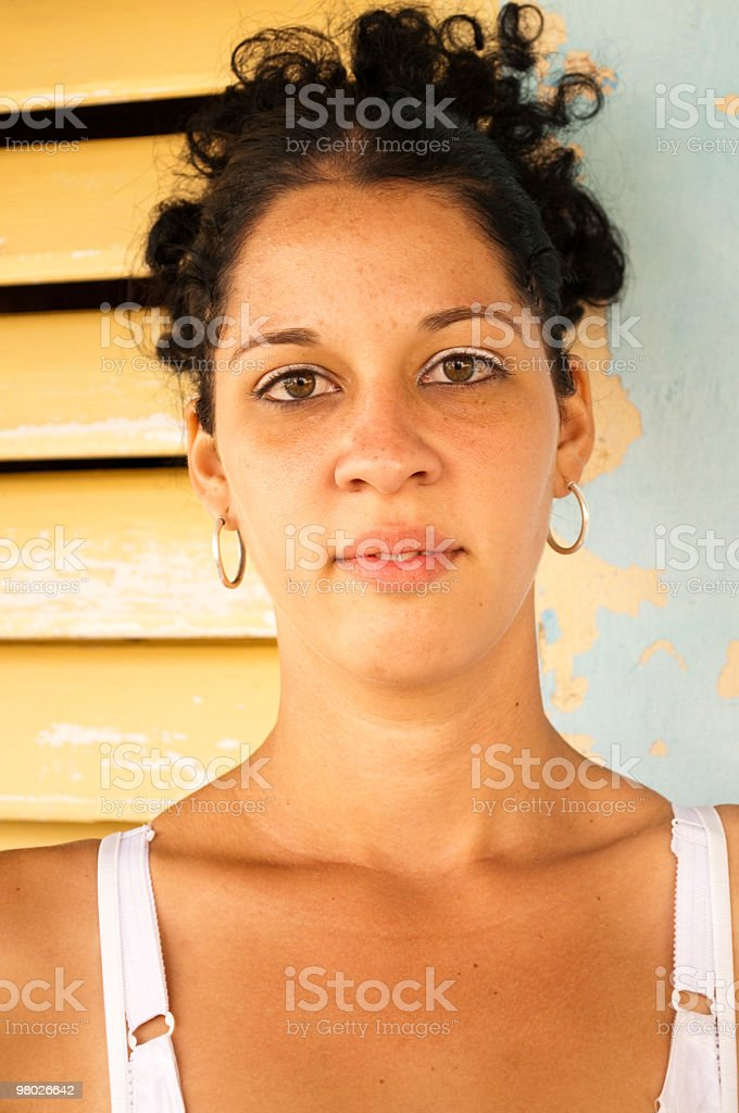 Young Latin woman royalty-free stock photo