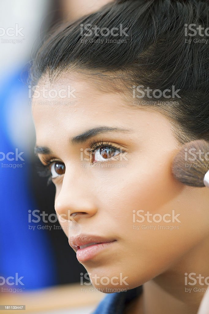 Young Latin Woman Portrait royalty-free stock photo