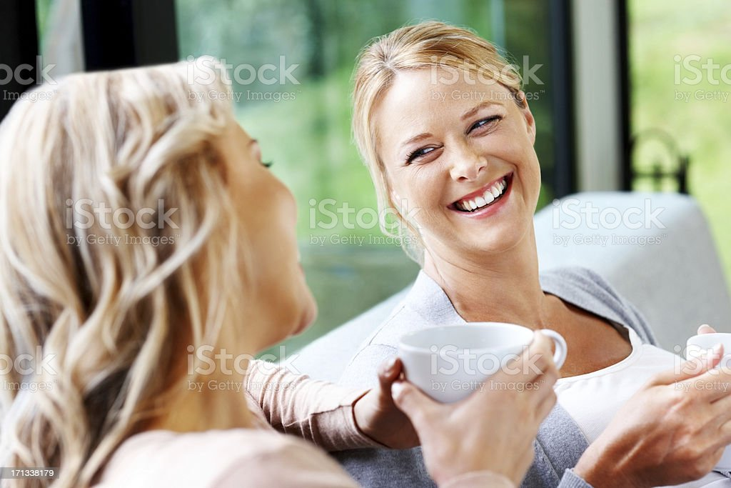 Young lesbian couple having fun together royalty-free stock photo