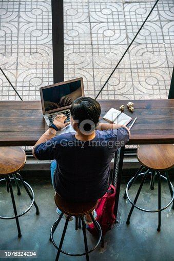 937328186 istock photo Young lesbian working online on the laptop 1078324204