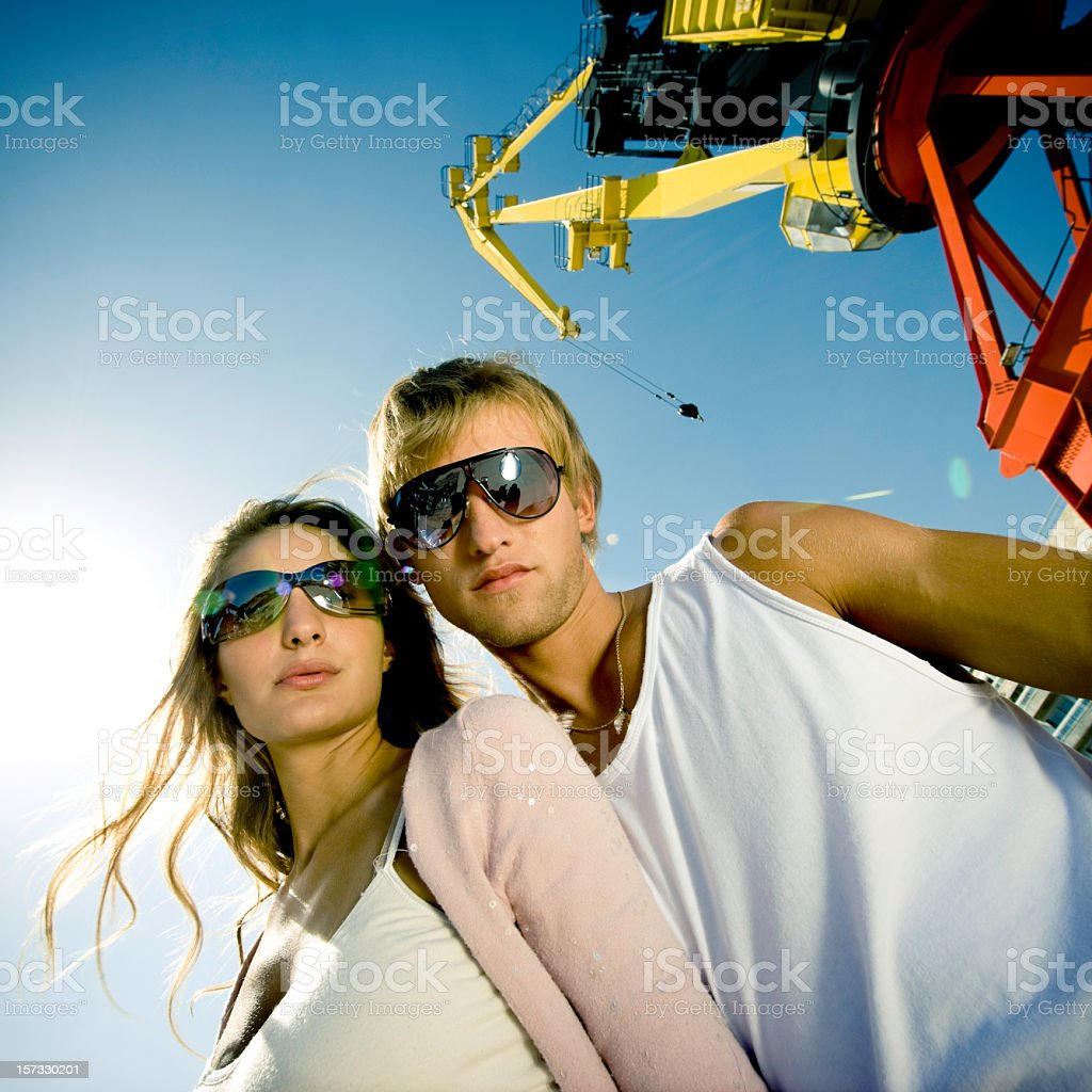 Young Lifestyle Couple royalty-free stock photo