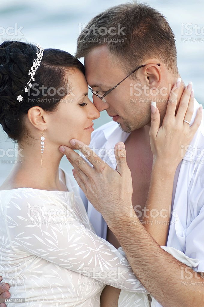 Young lovers stock photo