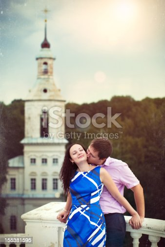 490225014istockphoto Young loving couple at the church 155381595
