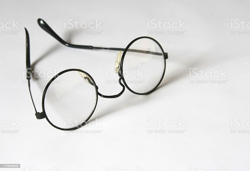 Young Magician Glasses stock photo
