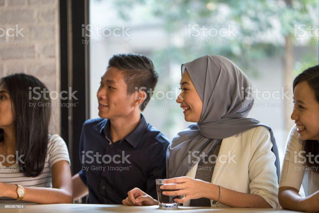 Malaysische Jugendliche - Lizenzfrei Asiatischer und Indischer Abstammung Stock-Foto