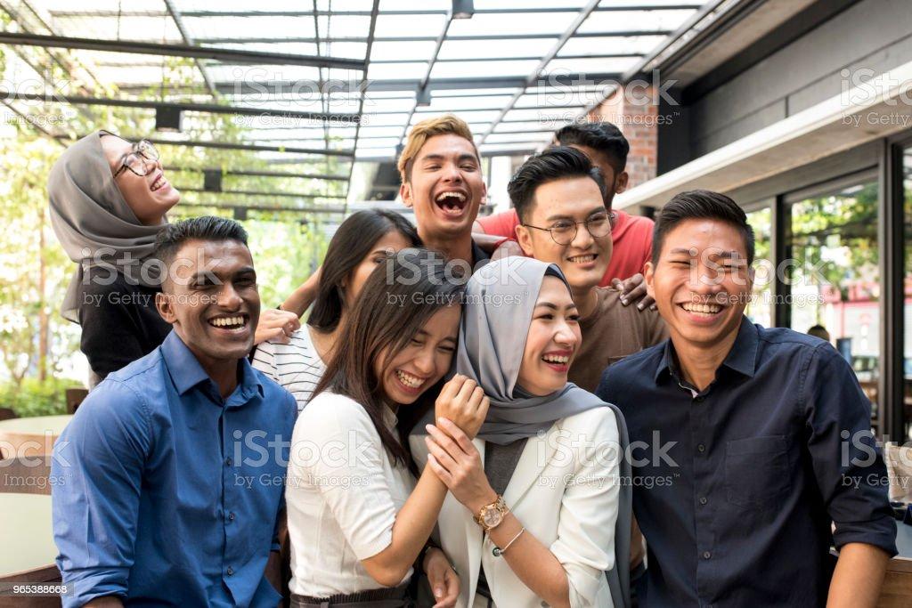 젊은 말레이시아 친구 - 로열티 프리 20-29세 스톡 사진