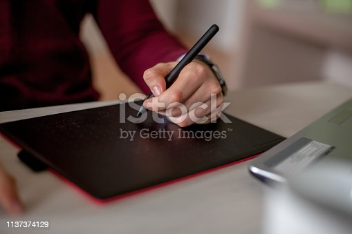932763106 istock photo Young male freelancer 1137374129