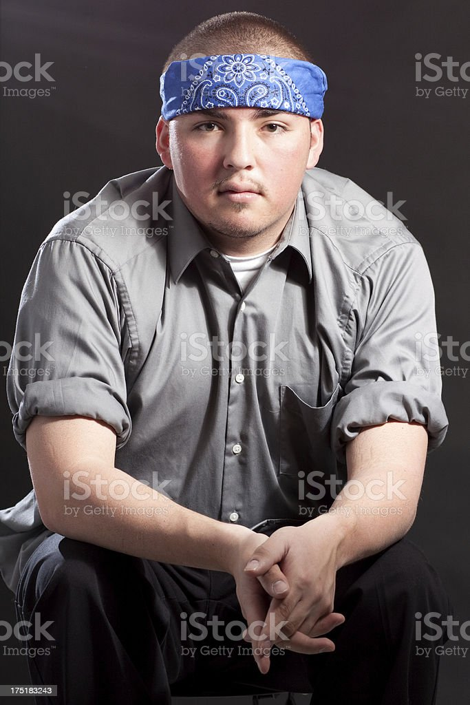 Young Male Hispanic Person stock photo