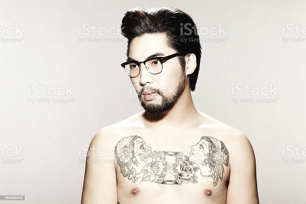 nudo maschio modello