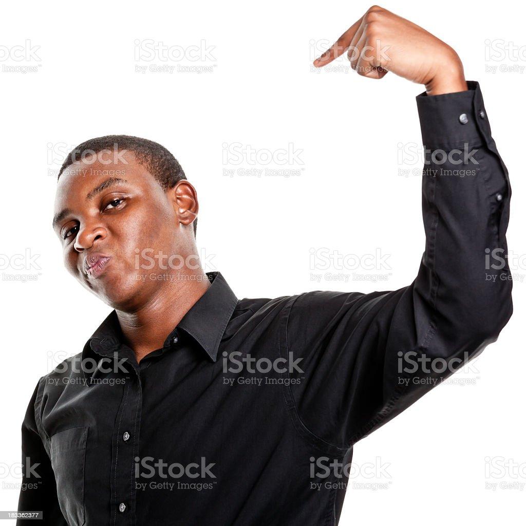 Retrato de hombre joven - foto de stock