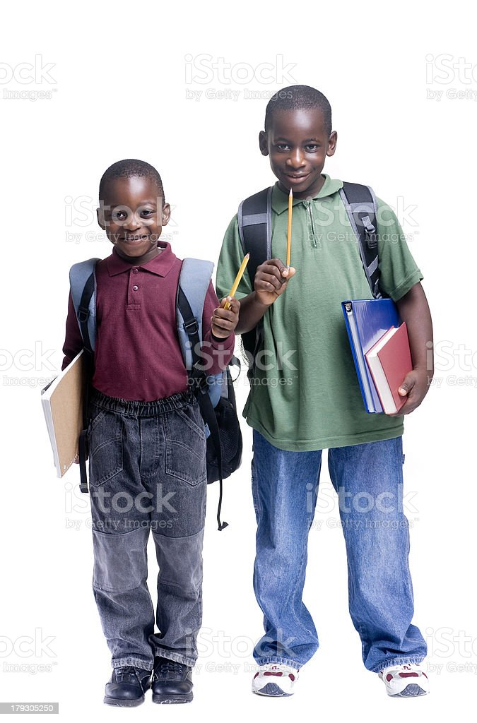 Young Male Students royalty-free stock photo