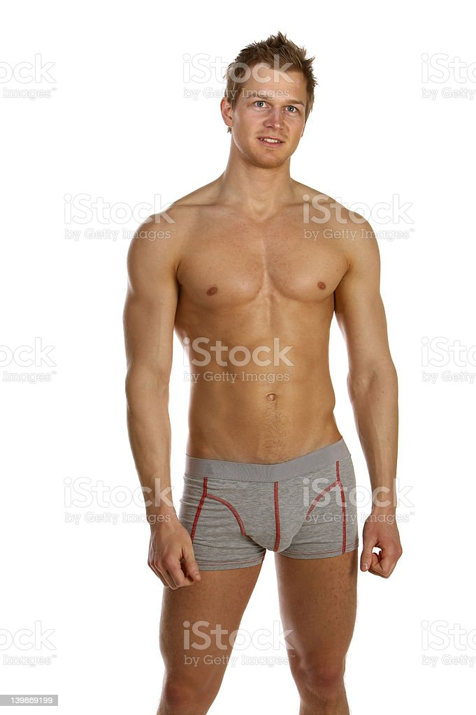 Baker Mayfield Hd >> Young Male Underwear Model Stock Photo & More Pictures of 20-24 Years | iStock