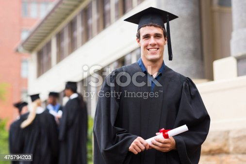 istock young male university graduate 475794203