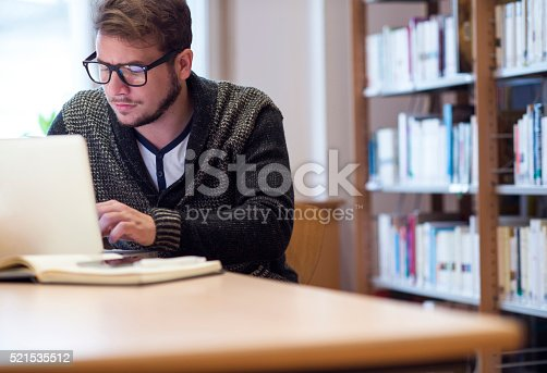 istock Young man at work 521535512