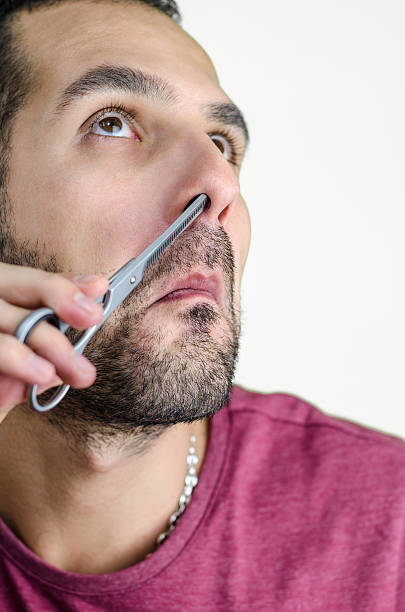 Image result for images of man trimming nose hair high quality