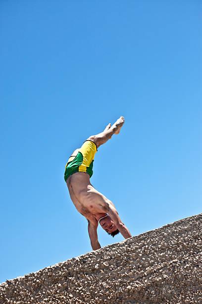 Best Naked Men Capoeira Dancing Stock Photos, Pictures -3722