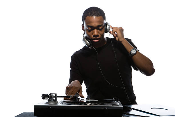 Young man djing  dj stock pictures, royalty-free photos & images