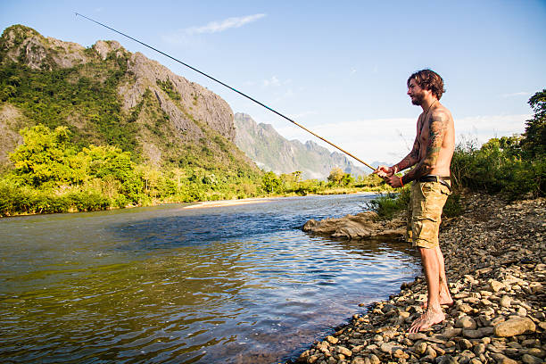 Young Girl Fishing Net Stock Photo 90623317 - Shutterstock