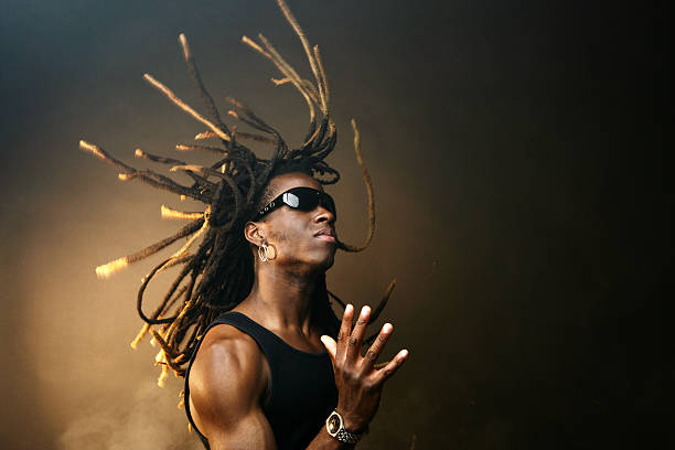 Young Man Gesturing  rastafarian stock pictures, royalty-free photos & images