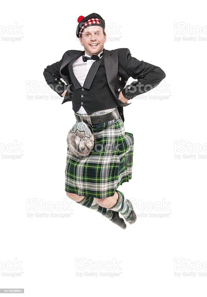 Hombre Joven En Ropa Para Bailar Escocés - Fotografía de stock y más ... 9d98698305f