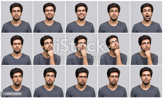 Young man in different poses taken with Nikon D800 in RAW format.