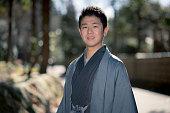 Young man in Kamakura