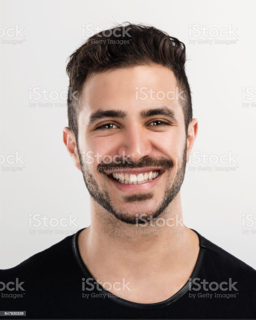 Junger Mann Lachen – Foto