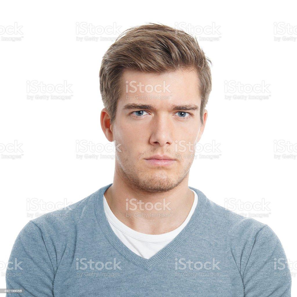 Junger Mann, die verärgert – Foto