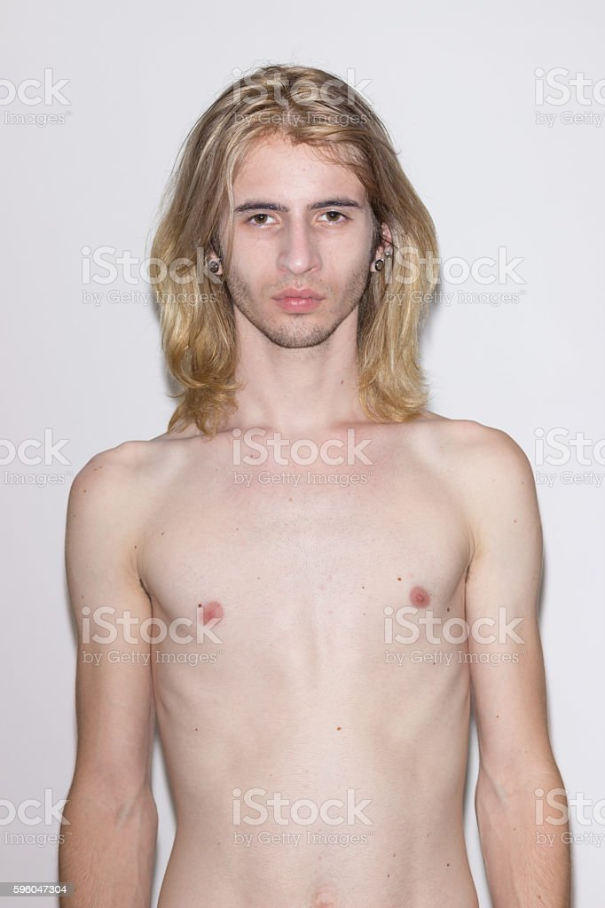 young man model snapshot royalty-free stock photo