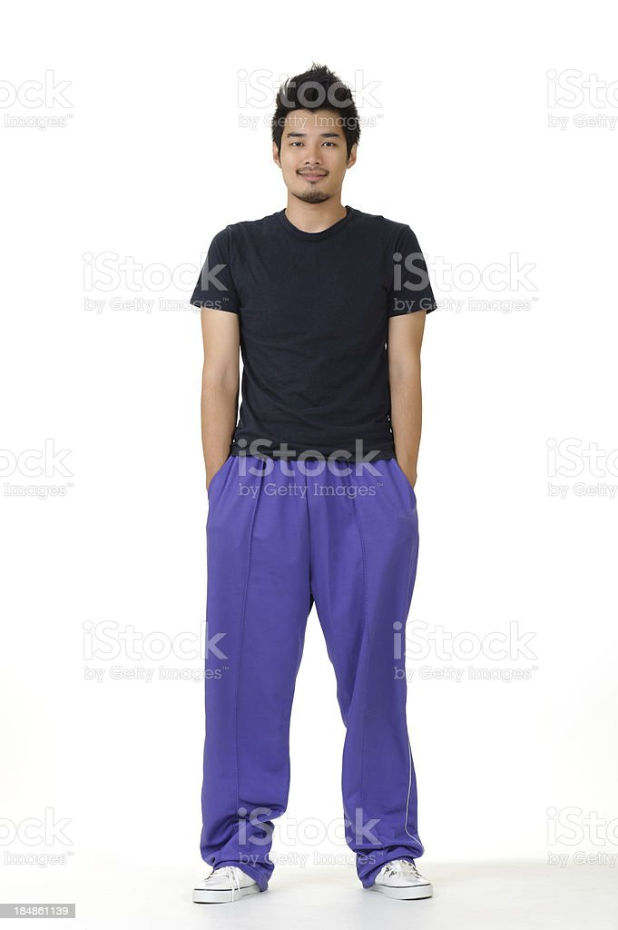 Young man of fitness royalty-free stock photo